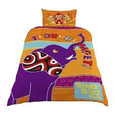 Kids Single Duvet Cover Sets Tinga Tinga Tales Childrens Kids Single Duvet Cover Bedding Set