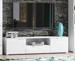 cellini white gloss tv unit media entertainment furniture s9