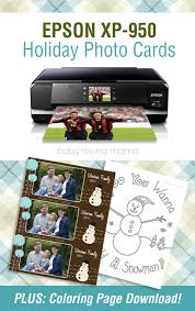 epson xp 950 printer review snowman coloring