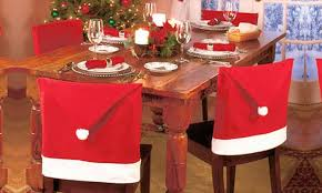 santa hat chair covers santa hat dining chair covers groupon