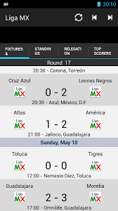 liga mx table 2017 freapp fútbol mx this app brings you all relevant information