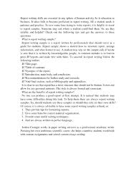academic writing report sample masters essay on sociology a