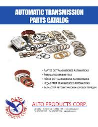 automatic transmission parts catalog