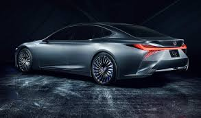 Lexus Ls Concept Points To Near Future Autonomous Abilities