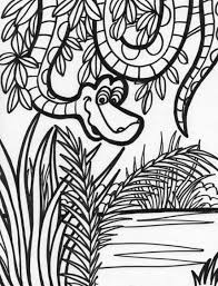 10 images jungle background coloring pages simple jungle