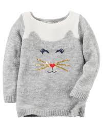 cat sweater cat sweater carters com