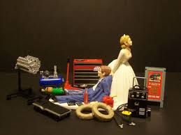 mechanic wedding cake topper best 25 mechanic cake ideas on sculpted cakes tool