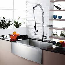 Kitchen Stainless Sinks by Kitchen Convenient Cleaning With Stainless Steel Farm Sink