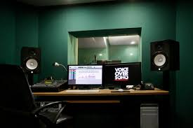 Small Music Studio Desk by Voiceover Soho Professional Recording Studio London