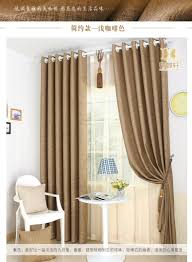 high grade linen all shading curtains custom made hotel project