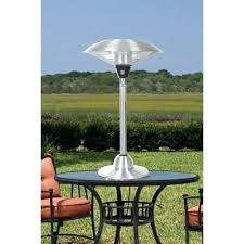 Table Top Patio Heaters Propane Outdoor Tabletop Heaters Sense Stainless Steel Watt Electric