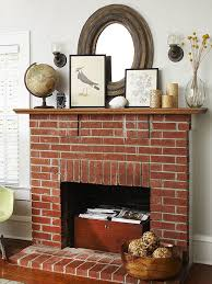 fireplace styles and design ideas red brick fireplaces brick