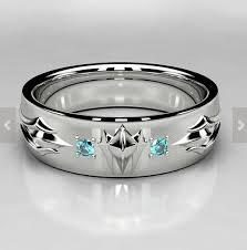 the marvels wedding band black panther teal blue diamond mens wedding ring wakanda marvel