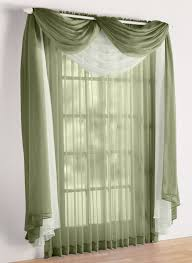 Sheer Swag Curtains Valances Decor Appealing Interior Home Decor Ideas With Kohls Window