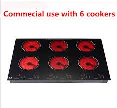 ustensile de cuisine en c commercial électrique céramique cuisinière à induction table de