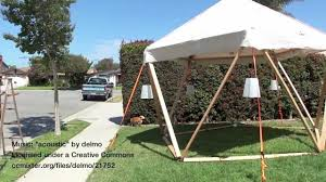 1v geodesic dome shade structue for burning man youtube