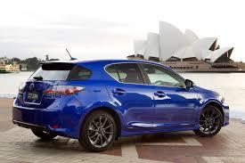 lexus hybrid hatchback lexus ct 200h f sport debuts at 2010 sydney motor show forcegt com