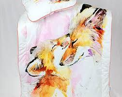 baby bedding fox crib bedding triangles arrows fox teepee
