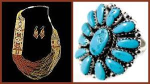american jewelry indian silver turquoise and beaded