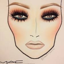 73 best makeup sketches images on pinterest make up sketches