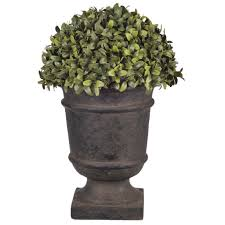 Topiary Balls With Flowers - artificial 13