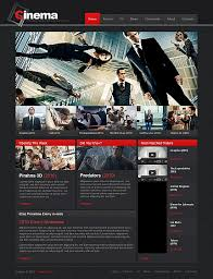 custom website design movie templates custom website development