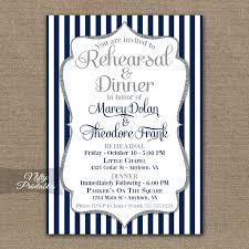 wedding rehearsal dinner invitations navy blue silver wedding rehearsal dinner invitations nifty