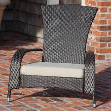 Adirondack Patio Chair Furniture Black Wicker Adirondack Chair With White Adirondack