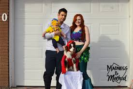 family costumes diy family costumes the mermaid madness method