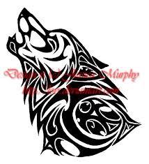 32 best wolf head tribal tattoo designs images on pinterest