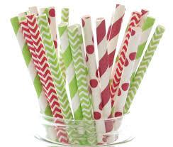 Vintage Halloween Plates by Amazon Com Christmas Straws Red U0026 Green Holiday Straws Vintage