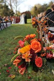 Fall Wedding Aisle Decorations - 193 best fall wedding flowers images on pinterest picture of
