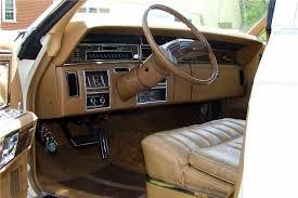Brown Car Interior 1976 Lincoln Town Car 195918