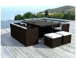 mobilier de jardin en solde soldes mobilier de jardin fermob meuble en resine salon solde