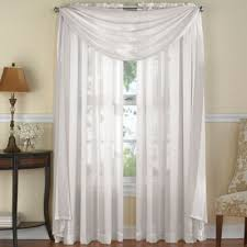 Chocolate Brown Valances For Windows Buy Window Scarf Valances From Bed Bath U0026 Beyond