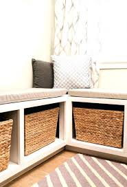 Corner Storage Bench Storage Bench Seat Plans Benches Window Seat Storage Bench Diy