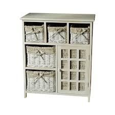 bathroom inspiring wooden bathroom storage cabinet with woven