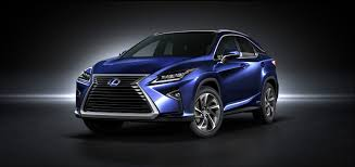 lexus suv blue new york show 2016 lexus rx suv is revealed at the new york motor