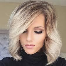 dark roots blonde hair short blonde hair with dark roots