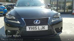 lexus is300h cvt top gear motors high wycombe lexus is300h black youtube