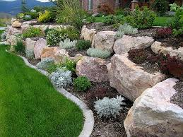 Small Shrubs For Front Yard - boulder retaining wall offers the experience of 200 000 square