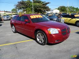 2005 dodge magnum r t in inferno red crystal pearl 619091 jax