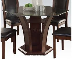 72045 dining set in espresso tone by acme w options