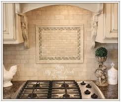 Best Backsplashes Images On Pinterest Backsplash Ideas - Travertine tile backsplash