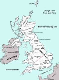 Dialect Map Usa by Map Of Stereotypes Of The Uk Oc 728x975 Mapporn