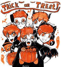 halloween gang trick or treat by aquagd on deviantart