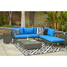Outdoor Settee Cushions Set Of 3 Clearance Sunbrella Patio Furniture You U0027ll Love Wayfair