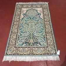 silk tree of life prayer rug u2013 a1583c ward u0027s oriental rugs