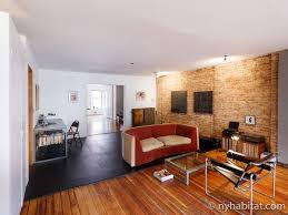 Livingroom Nyc New York Apartment 1 Bedroom Loft Apartment Rental In Lower East