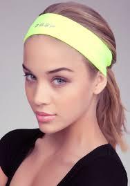 sport headband bebe hold it headband sport in yellow lyst